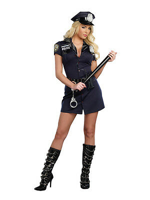 New Officer Randi Stopsign Woman/'s Police Costume by Dreamgirl 9905 Costumania