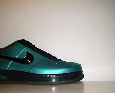 3276ce18b1 2012 Nike Air Force 1 Foamposite Pro Low Sz. 12 Green Max Black One 532461