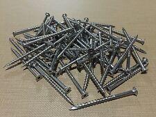 "(25 LBS) #10 x 3"" Stainless Steel Square Drive Wood Deck Screws Grip Rite"