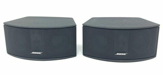 Bose Cinemate 3-2-1 Series I II III GS GSX Gemstone Satellite Speakers Black