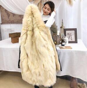 Ladies Fur Lined Parka Coat