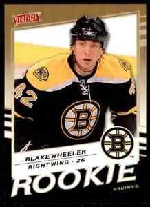 2008-09-Upper-Deck-Victory-Rookie-Gold-Blake-Wheeler-Rookie-347