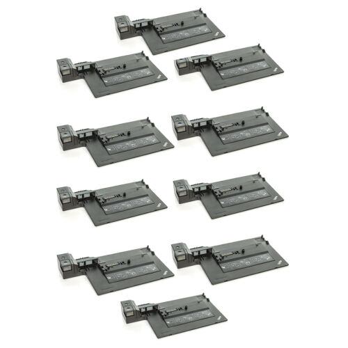 AC NO KEY Lot of 10 Lenovo ThinkPad 4336 Docking Station for T420 T510 T520