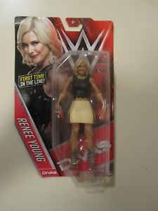 WWE RENEE Jeune Basic Series 60 MATTEL action figure