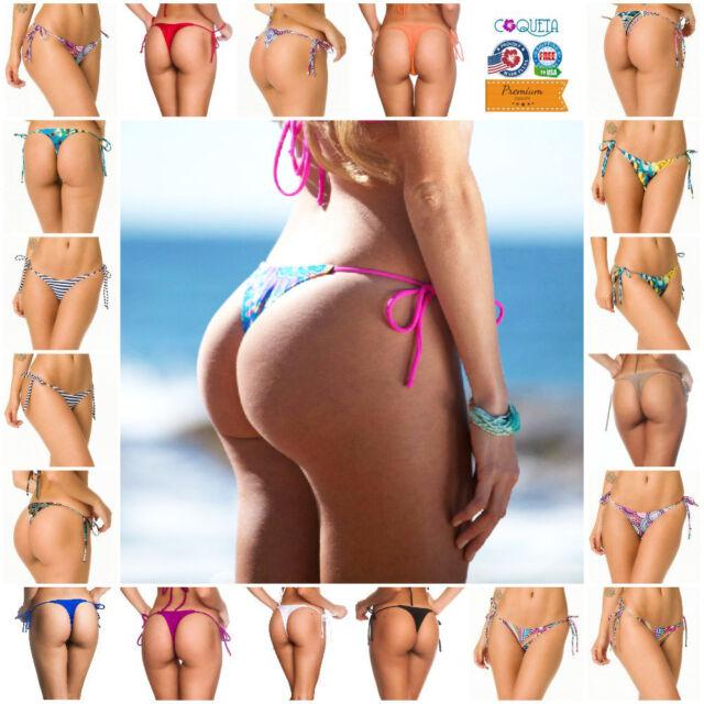 Angus Womens Brazilian Bikini Thong Bottom Bathing Suit Beach Wear Grey For Sale Online Ebay