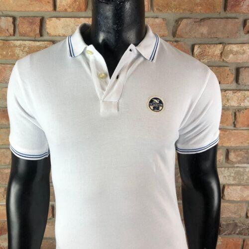 North Sails Polo Hommes Polo Shirt Blanc Sale ns05