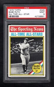 1976-TOPPS-345-BABE-RUTH-ALL-TIME-ALL-STAR-PSA-9-MINT-CENTERED