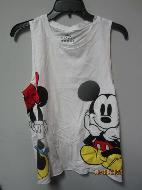 Disney Boys Navy Blue Mickey Mouse Roll Tank Top Shirt