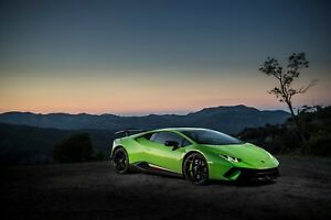 Lamborghini-Huracan-Performante-Auto-Car-Art-Silk-Wall-Poster-Print-24x36-034
