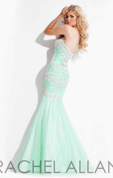 RACHEL ALLAN PROM EVENING PAGEANT PAGEANT PAGEANT DRESS MINT New SIZE 6 style6983 82316b