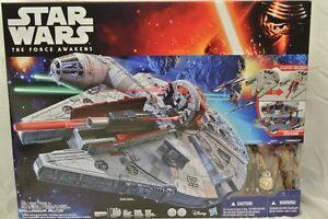 Star Wars The Force Awakens Millennium Falcom W/ Finn, BB-8 & Chewbacca Play Set