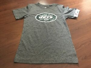 9cc8921d Details about B76 NFL New York Jets Team Textured Logo T-Shirt kids S 6/7  free shipping
