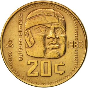 1983-Messico-20-Centavos-Au-Olmec-Culture-Messico-Bin-4