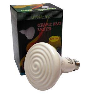 """Reptile Vivarium céramique émetteurs de chaleur 25W blanc vis type ES27 1 """"-afficher le titre d`origine sYUVo2WP-07192843-969281243"""