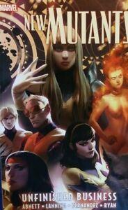 New Mutants V4 Unfinished Business TP - Marvel Comics - X-Men Mutant