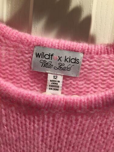Kinder Roze schipWildfox 12S met NwtUitverkochtGratis Hartje Sweater Maat Pailletten lFK1cJ