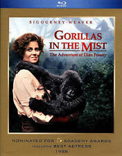 Gorillas in the Mist Blu-Ray Sigourney Weaver Bryan Brown NEW DVD Movie