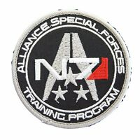 Mass Effect Alliance Special Forces N7 Embroidered Patch