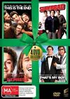 This Is The End / Pineapple Express / Superbad / That's My Boy (DVD, 2014, 4-Disc Set)