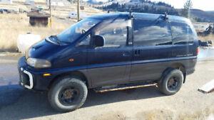 1994 Mitsubishi Delica for parts/rebuild