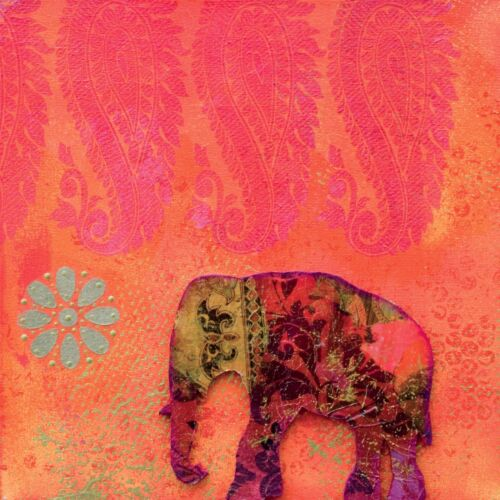 Poster poster elephant ref 14 photo paper 3 dimensions, matte paper or