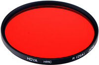 Hoya 72mm Red 25 Multi Coated Glass Filter. U.s Authorized Dealer