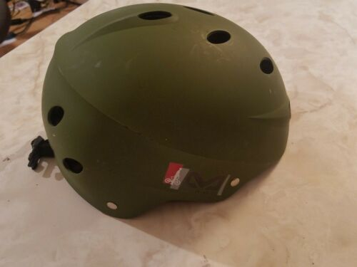 "BELL Wicked Multi Sport Helmet Youth 56""60"" M113 Age 8+ ARMY GREEN ML"