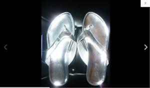 n-40-REBAJAS-preciosas-sandalias-dedo-en-plata-mujer-talla-nuevo