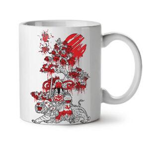 Japanese Knight Fantasy NEW White Tea Coffee Mug 11 oz | Wellcoda