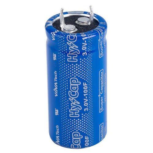 10+30/% 3V Snap-in EDLC Capacitor VinaTech VEC3R0507QG 500F