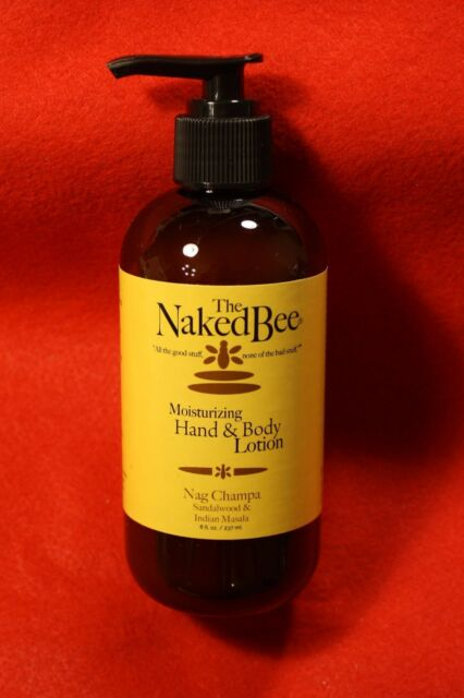 The Naked Bee brand allergy free rated skin products and