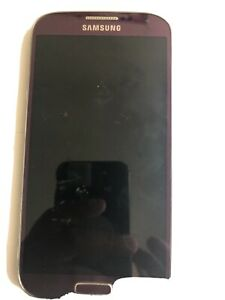 Samsung-SPH-L720T-Galaxy-S4-Sprint-Smartphone-Purple-Parts-Only