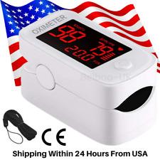Contec Oximeter Pulse Finger Tip Blood Oxygen Saturation Spo2 Pr Monitor Fdaamp Ce