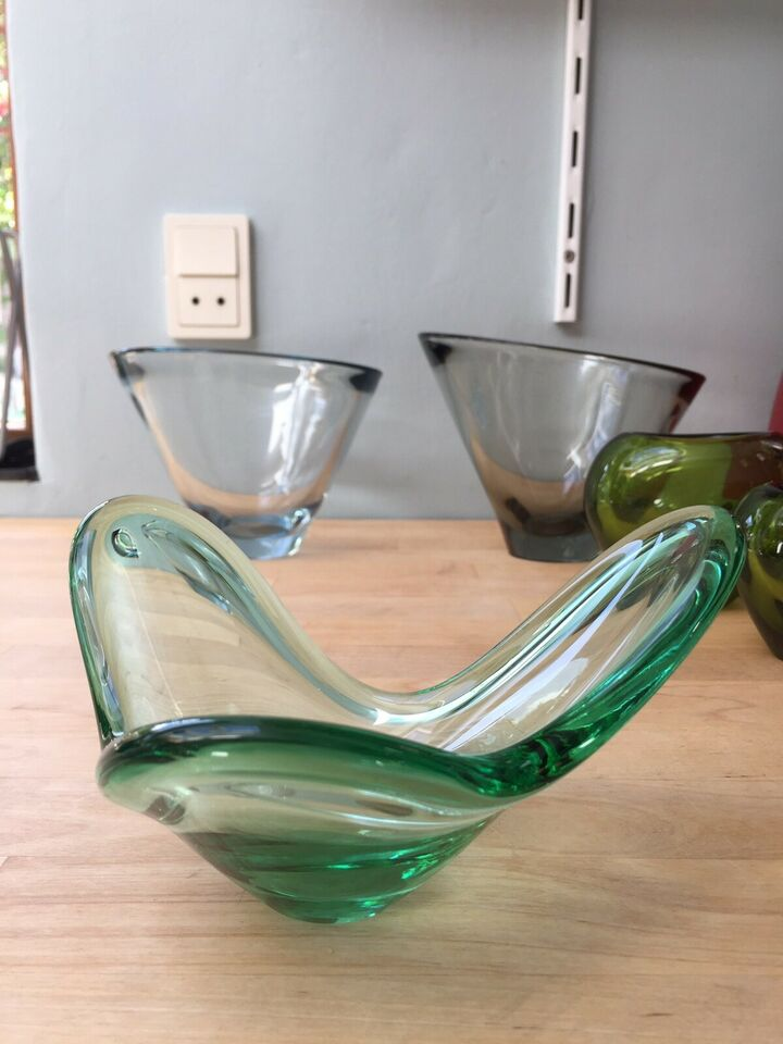 Glas, skål, Holmegaard