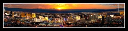 Las Vegas Nevada Poster Helicopter View from The Rio Casino #593 FREE SHIPPING *