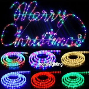 10m30m50m waterproof led rope light outdoor lights christmas image is loading 10m 30m 50m waterproof led rope light outdoor aloadofball Image collections