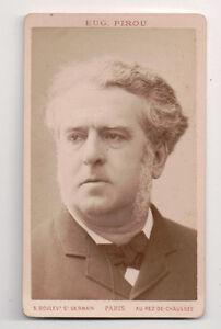 Vintage-CDV-Charles-Floquet-French-Statesman-Prime-Minister-Eugene-Pirou-Photo