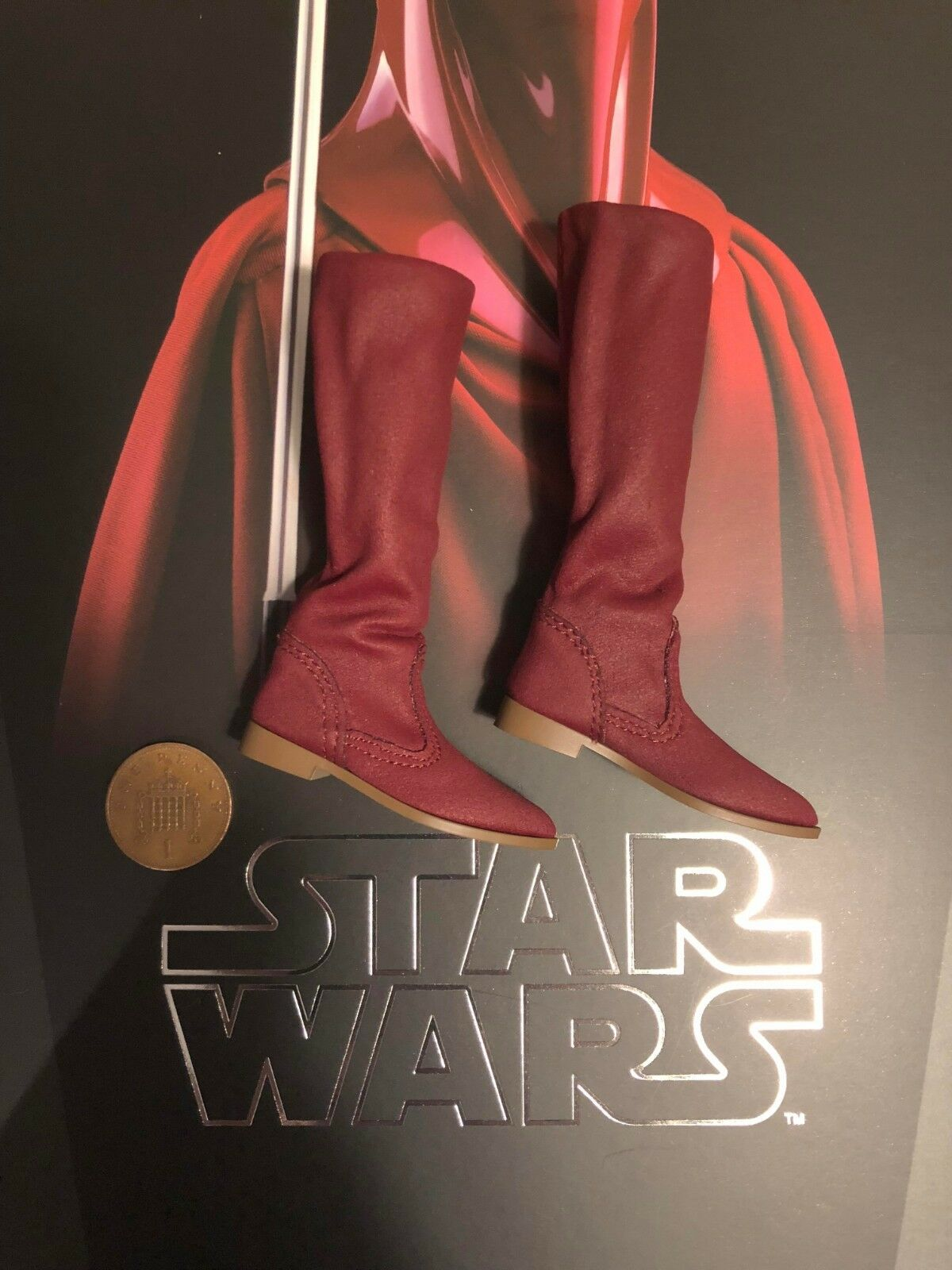 Heißes spielzeug star wars rotj königliche wache mms469 tall Stiefel los 1   6 - skala