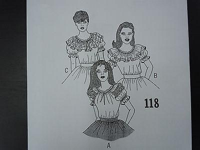 New!! C & C Originals Square Dance Pattern 118
