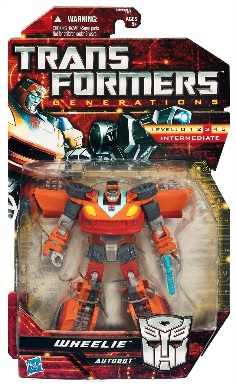 Transformers Generations Asia Exclusive GDO Wheelie MISB