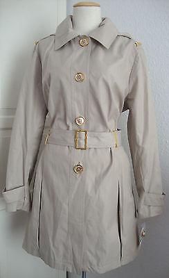 MICHAEL KORS Trenchcoat Mantel Jacke Parka Damen mit Kapuze Gr.44 NEU mit ETIKET   eBay
