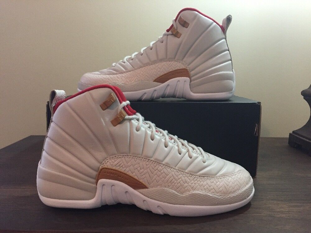 DS AIR JORDAN 12 RETRO CNY GS Sz- 8Y 881428 142 Ovo Wings Psny Flu Game best-selling model of the brand