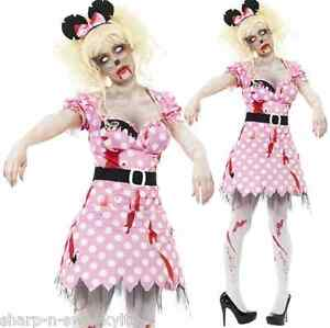 Ladies-Zombie-Minnie-Mouse-Cartoon-Dead-Corpse-Halloween-Fancy-Dress-Costume