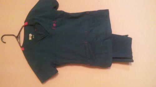 wonder flex scrub setshirt xs pants smallteal blue
