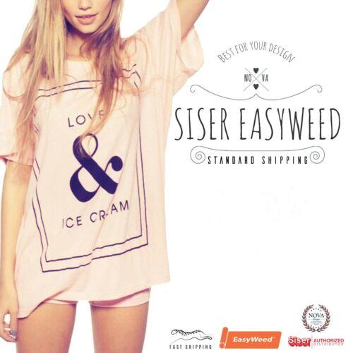 """Siser Easyweed Heat Transfer Vinyl 12/"""" x 25 ft"""