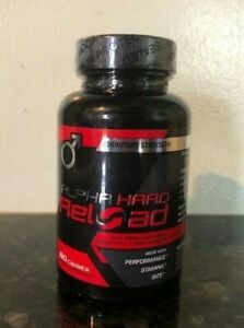 60 ALPHA HARD RELOAD Testosterone Booster Male Enhancement Muscle Mass exp 03/20 eBay