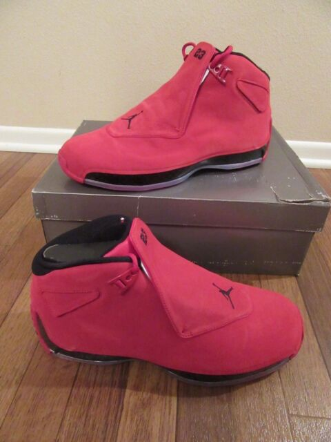 4c53e310fd55c2 Nike Air Jordan 18 Retro Size 12 Gym Red Black AA2494 601 Brand New NIB Toro