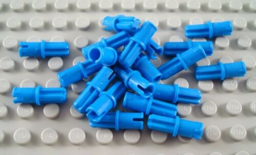 LEGO Lot of 20 Blue Technic  Mindstorms Connector Pins with Axle End