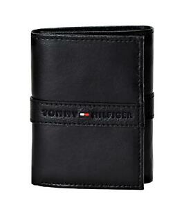 Tommy-Hilfiger-Men-039-s-RFID-Blocking-Leather-Ranger-Extra-Capacity-Trifold-Wallet