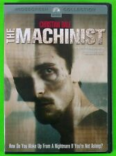 The Machinist DVD Christian Bale